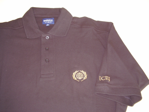 Polo-Shirt, schwarz, Damen