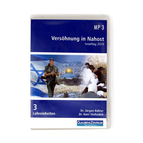 "CD ""Versöhnung in Nahost"""